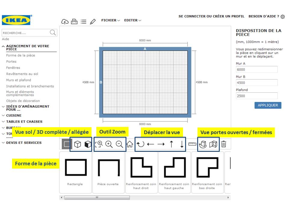 Ikea home planner 2017 francais