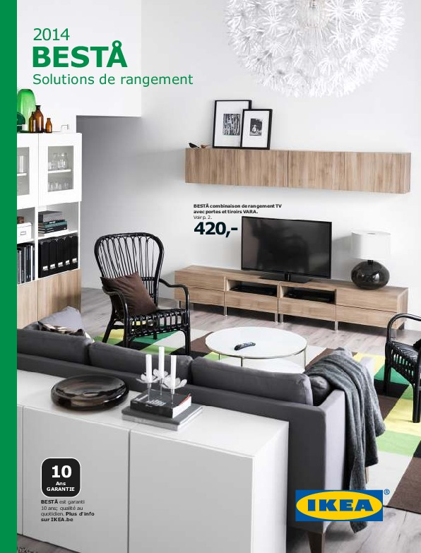 IKEA Belgique - BESTA 2014