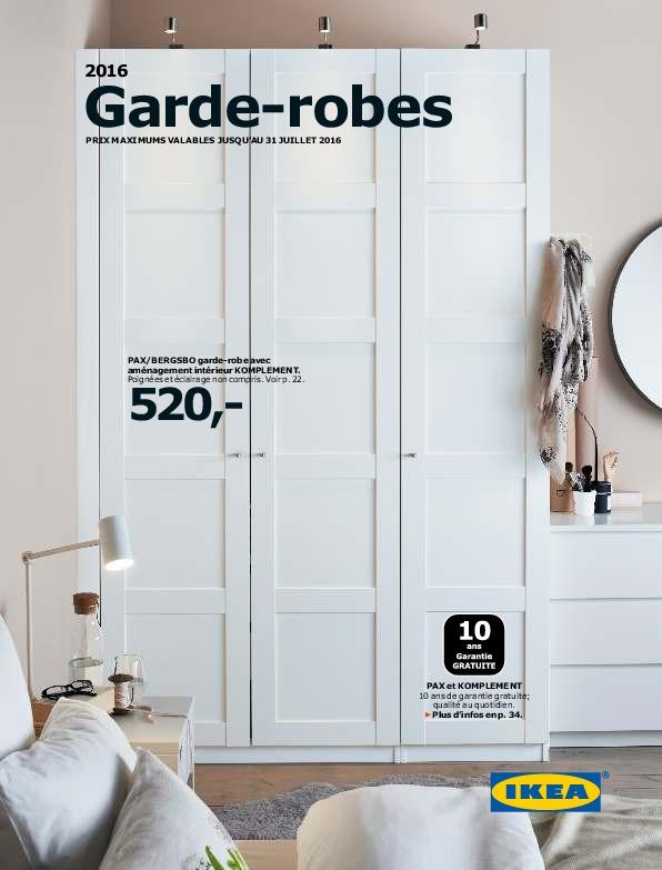 IKEA Belgique - Guide Armoires Dressing 2016