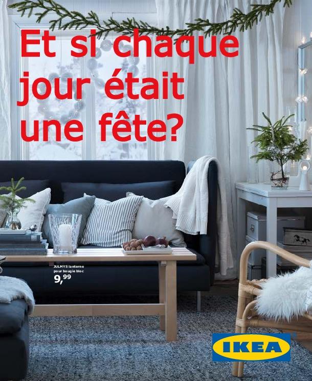 IKEA Belgique - Et Si Chaque Jour Etait Une Fete Hiver 2012