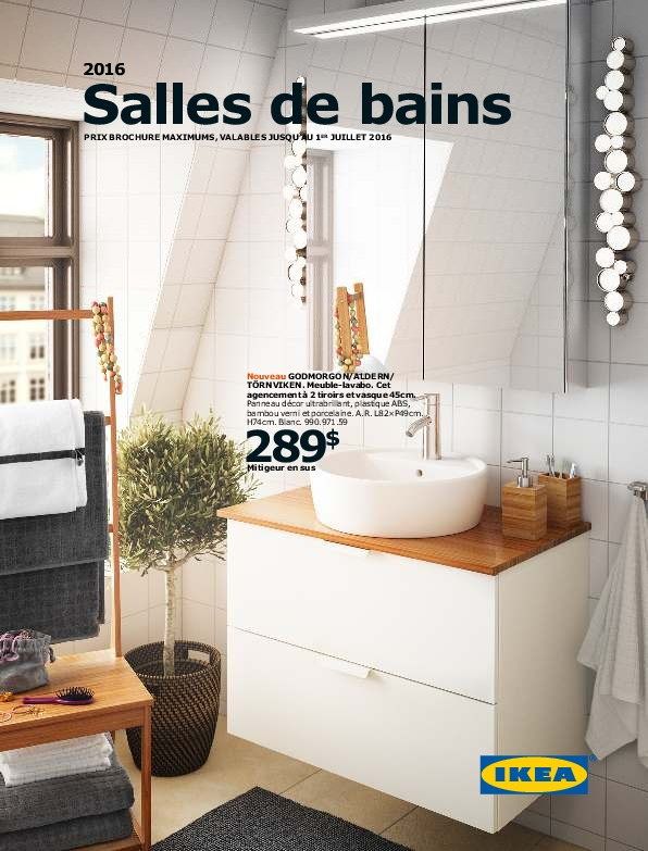 IKEA Canada - Brochure Salle de Bains 2016