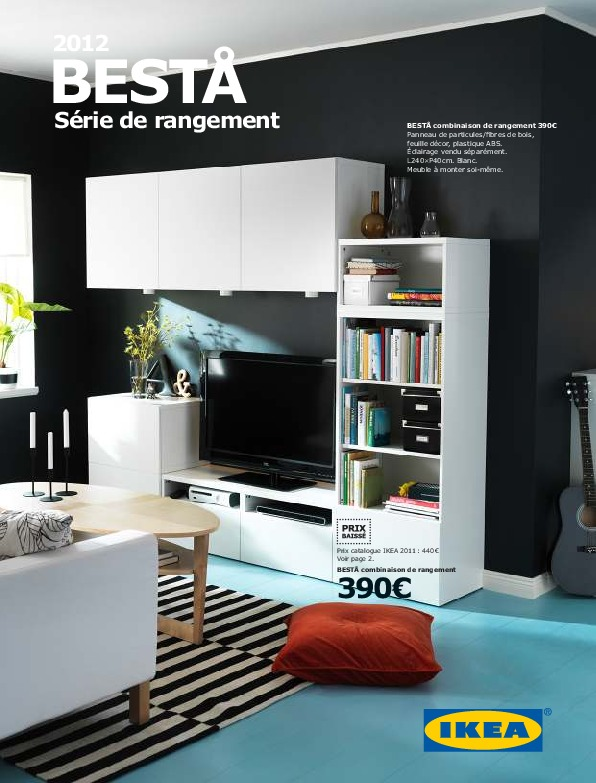 ikea france rangements besta ikeapedia. Black Bedroom Furniture Sets. Home Design Ideas