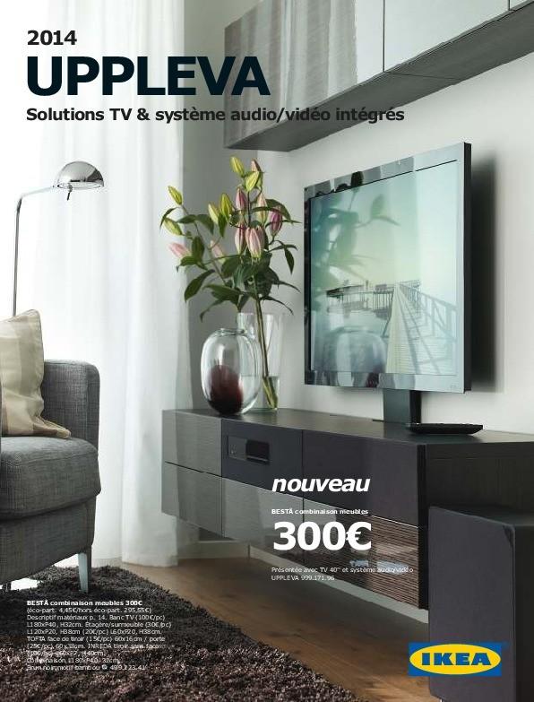 ikea france uppleva solutions tv audio video 2014 ikeapedia. Black Bedroom Furniture Sets. Home Design Ideas