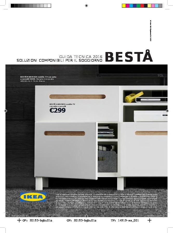 IKEA Italia - Guida tecnica BESTA 2016
