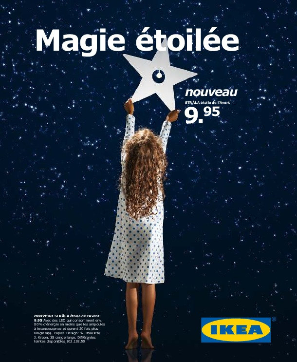 IKEA Suisse - Magie Etoilee Hiver 2012