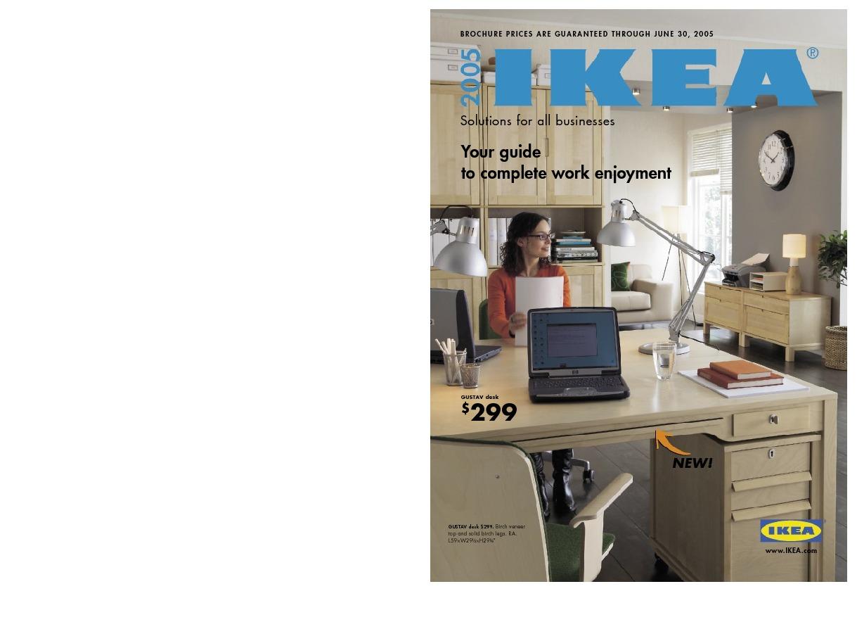 Catalogue Ikea Etats Unis 2005 Ikeapedia