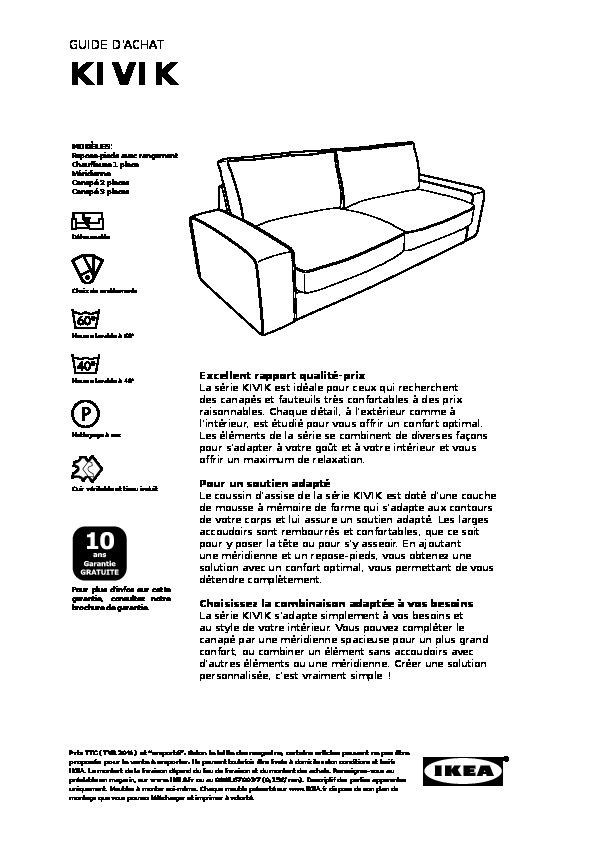 KIVIK Repose pieds av rangement Dansbo mauve (IKEA France
