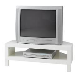 Lack meuble tv d 39 angle blanc ikea france ikeapedia - Meuble d angle tv ikea ...