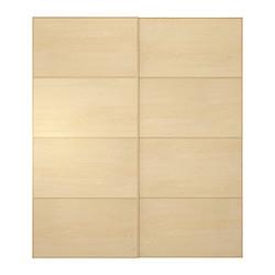 pax malm portes coulissantes 2 pi ces bouleau ikea canada french ikeapedia. Black Bedroom Furniture Sets. Home Design Ideas