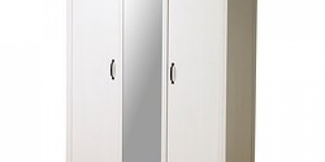 Brusali Wardrobe With 3 Doors White Ikea United Kingdom Ikeapedia