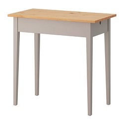 Norrasen Table Ordinateur Portable Gris Ikeapedia