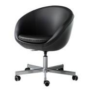 Skruvsta Swivel Chair Idhult Black