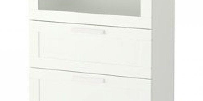 Brimnes commode 3 tiroirs blanc verre d poli ikea canada french ikeapedia - Commode brimnes ikea 3 tiroirs ...