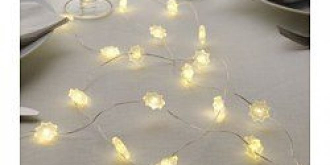 str la guirlande lumineuse led 40 ampoules toile de neige ikea france ikeapedia. Black Bedroom Furniture Sets. Home Design Ideas