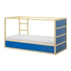 Kura Reversible Bed Dark Blue Pine Ikeapedia