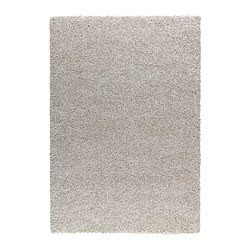 Alhede Tapis Poil Long Blanc Casse Ikea Canada French Ikeapedia