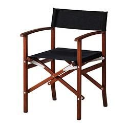Sedie Da Regista In Legno Ikea.Siaro Sedia Da Regista Grigio Scuro Ikea Italy Ikeapedia