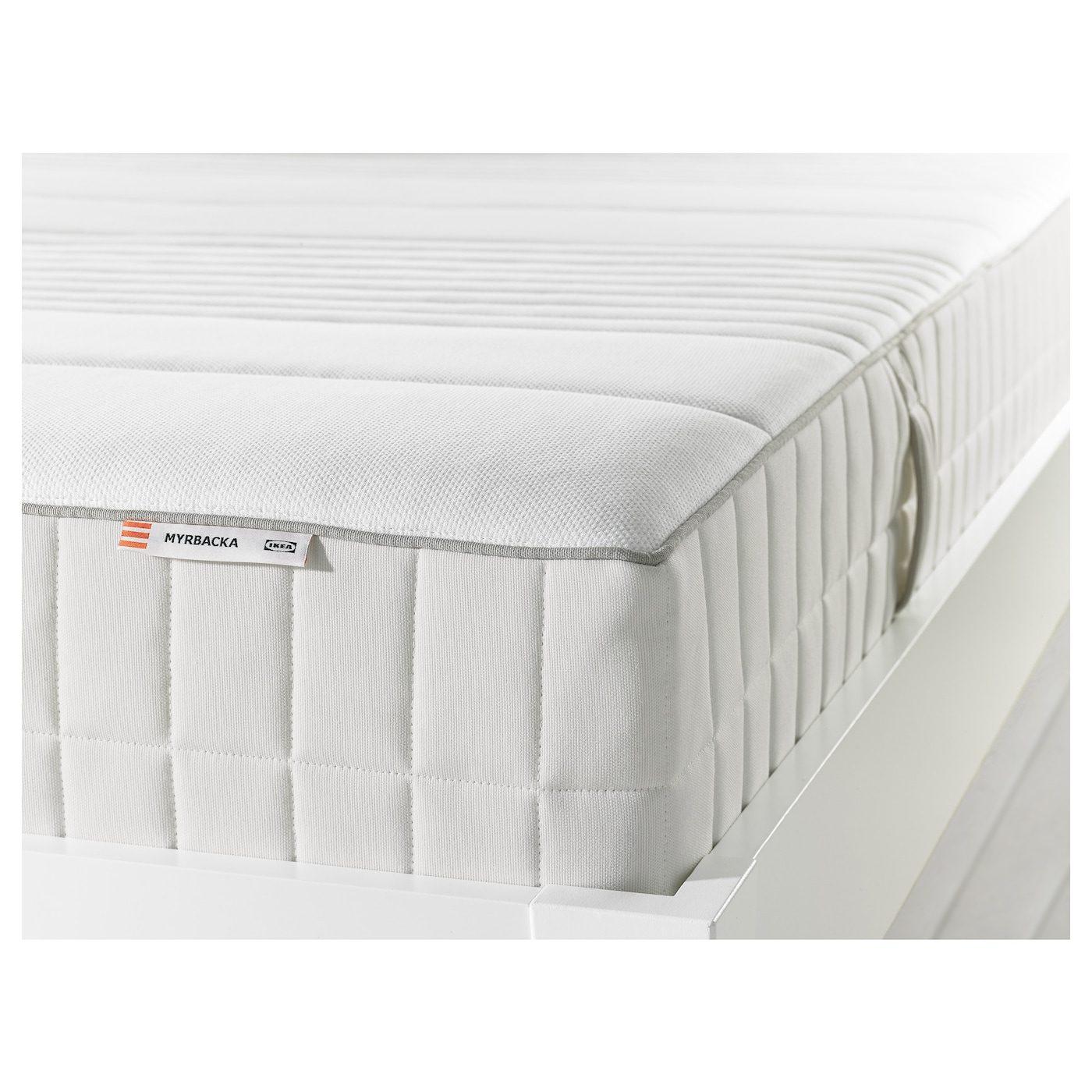 Materassi Lattice E Memory Foam.Myrbacka Materasso In Memory Foam Rigido Bianco Ikea Italy