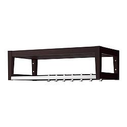 st ll tag re chapeaux brun noir ikea france ikeapedia. Black Bedroom Furniture Sets. Home Design Ideas