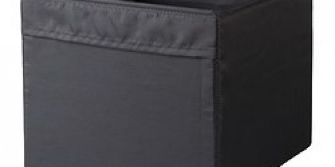 gop n rangement tissu noir ikea france ikeapedia. Black Bedroom Furniture Sets. Home Design Ideas