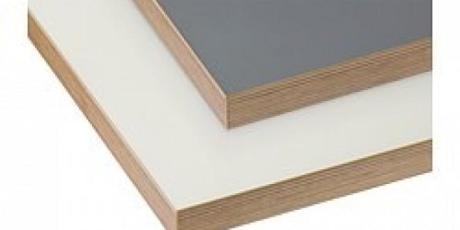 bergstena plan de travail double face blanc gris fonc chant effet bois ikea france ikeapedia. Black Bedroom Furniture Sets. Home Design Ideas
