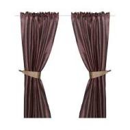 felicia 1 paire de rideaux avec embrasse mauve fonc ikea france ikeapedia. Black Bedroom Furniture Sets. Home Design Ideas