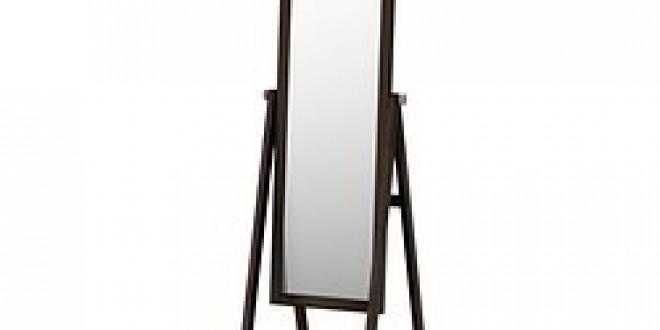 Isfjorden miroir teinture noir brun ikea france ikeapedia for Miroir noir review