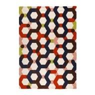 JERNVED Rug, high pile multicolor (IKEA