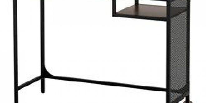 fj llbo table ordinateur portable noir ikea france ikeapedia. Black Bedroom Furniture Sets. Home Design Ideas