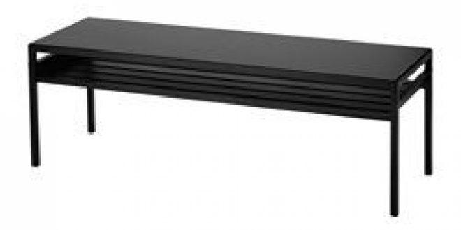 nyboda table basse avec plateau r versible noir beige ikea switzerland ikeapedia. Black Bedroom Furniture Sets. Home Design Ideas