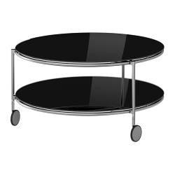 Strind Table Basse Noir Nickele Ikeapedia