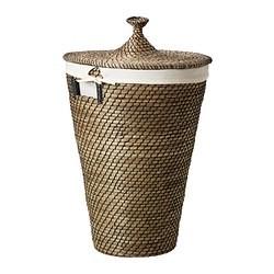 Asunden Laundry Basket Seagrass Ikeapedia