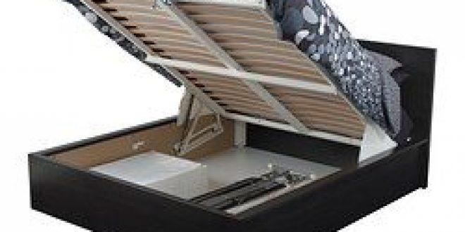 Welp MALM Bed frame with storage black-brown (IKEA Canada (English UA-22