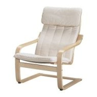 po ng coussin fauteuil alme cru ikea france ikeapedia. Black Bedroom Furniture Sets. Home Design Ideas