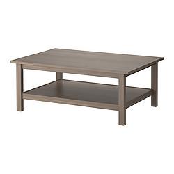 Hemnes Table Basse Gris Brun Ikea France Ikeapedia