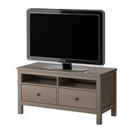 Hemnes Banc Tv Gris Brun Ikea France Ikeapedia