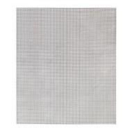 Berta Plastic Coated Fabric White Gray