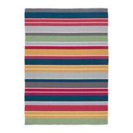 Rug, flatwoven handmade multicolor