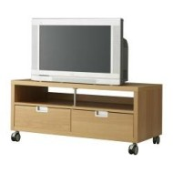 Besta Jagra Tv Unit With Casters Beech Effect Ikea United States