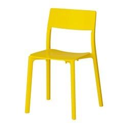 JANINGE Chair yellow IKEAPEDIA