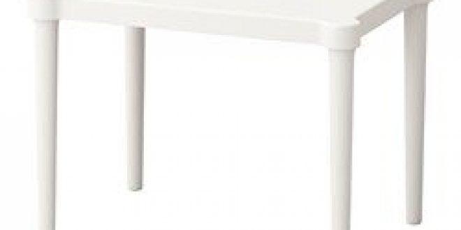 IKEA UTTER Enfants Tabouret en blanc; empilable; Pour l/'intérieur et l/'extérieur