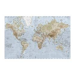 PREMIÄR Picture world map (IKEA United States) - IKEAPEDIA