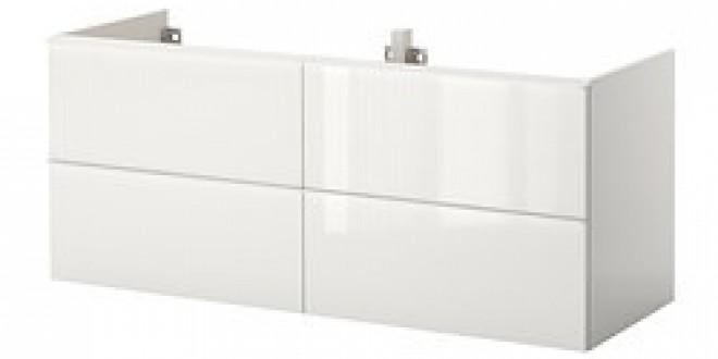 godmorgon meuble lavabo 4tir brillant blanc ikea france ikeapedia. Black Bedroom Furniture Sets. Home Design Ideas