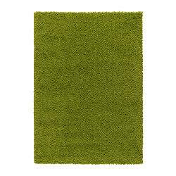 HAMPEN Rug, high pile bright green