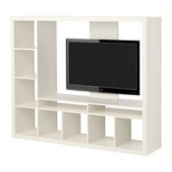 expedit expedit meuble tv blanc
