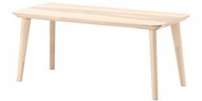 Table Ikeapedia Basse Frêne Lisabo Plaqué 4j5RAL