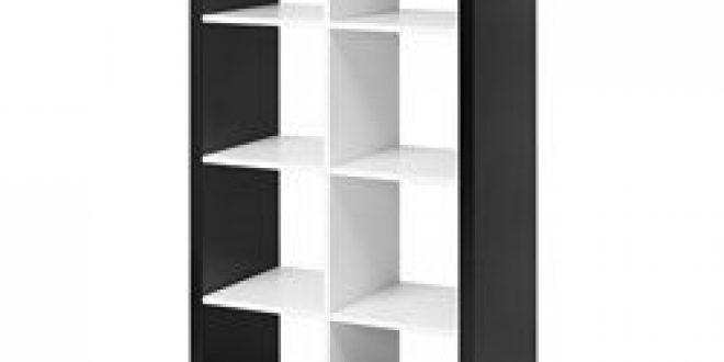 kallax tag re noir blanc ikea france ikeapedia. Black Bedroom Furniture Sets. Home Design Ideas