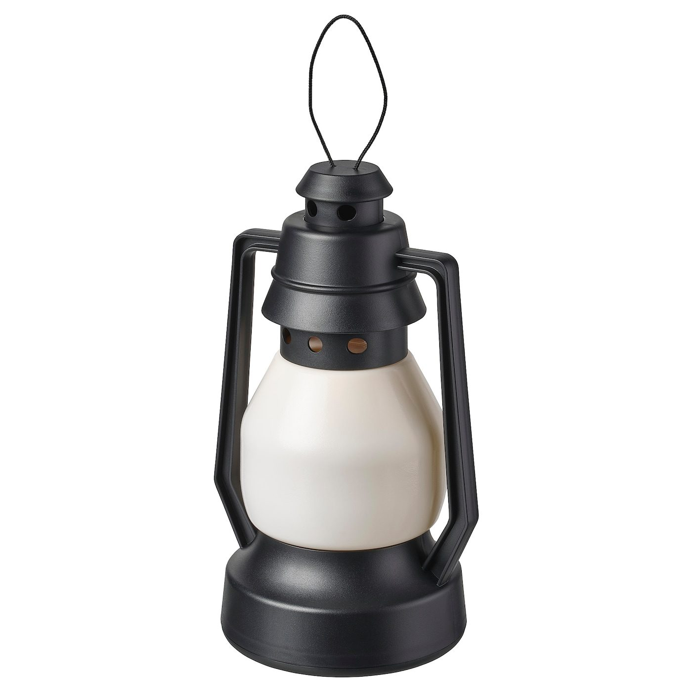 Vinterfest Led Decorative Light Vinterfest Battery Operated Indoor Outdoor Lantern Black Ikeapedia