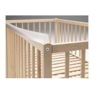 noga rail protect dentaire lit barreaux transparent ikea. Black Bedroom Furniture Sets. Home Design Ideas