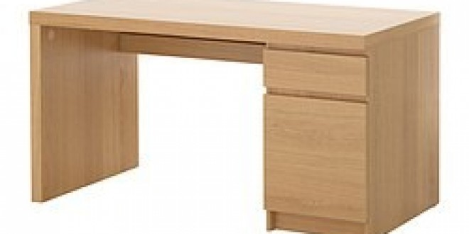malm bureau plaqu ch ne ikea france ikeapedia. Black Bedroom Furniture Sets. Home Design Ideas